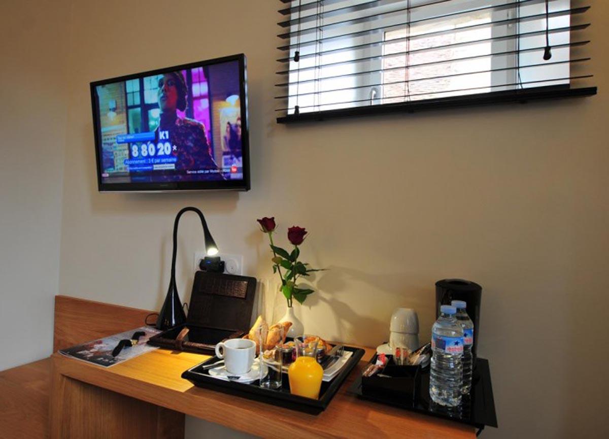 SY Hotels - Vézelay la Terrasse - Les Glycines - Chambre Basilique ...